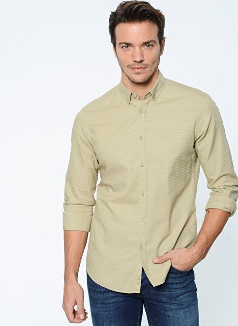 Ramsey Uzun Kollu Gömlek Yeşil